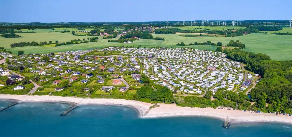 Direkt Am Ostseestrand Ostsee Campingplatz Kagelbusch